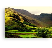 """LANGDALE VALLEY"" Canvas Print"