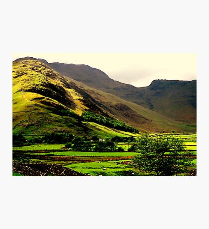 """""""LANGDALE VALLEY"""" Photographic Print"""