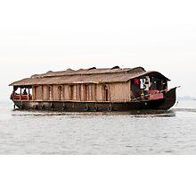 Houseboat Photographic Print