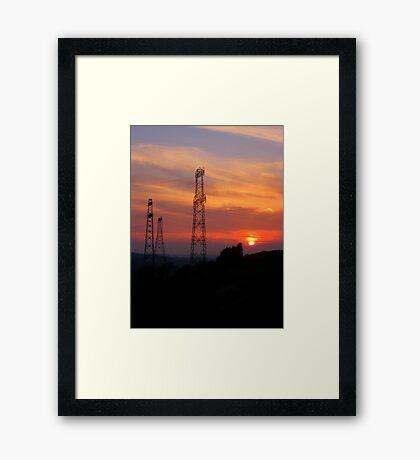 Giants.. Framed Print