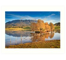 Mt Roland, Sheffield, Tasmania, Australia Art Print