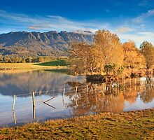Mt Roland, Sheffield, Tasmania, Australia by Matthew Stewart