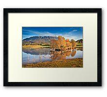 Mt Roland, Sheffield, Tasmania, Australia Framed Print