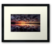 Light Show - Narrabeen Lakes,Sydney - The HDR Experience Framed Print