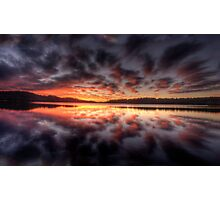 Light Show - Narrabeen Lakes,Sydney - The HDR Experience Photographic Print