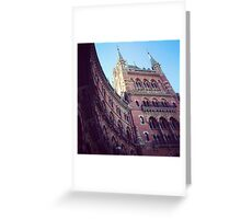 St. Pancras Grand Hotel Greeting Card