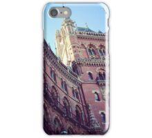 St. Pancras Grand Hotel iPhone Case/Skin