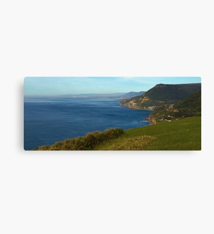 Stanwell Tops Panorama Canvas Print