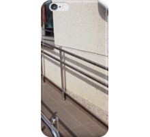 Ramp for physically challenged at the entrance iPhone Case/Skin