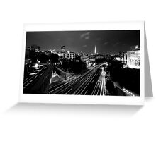 City of Zoom Greeting Card
