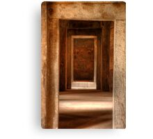 Haus Khas Tombs Canvas Print