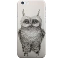 Cute Owl highly detailed iPhone Case/Skin