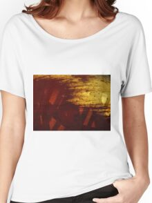 Spherical decay Women's Relaxed Fit T-Shirt