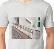 Ramp for physically challenged  Unisex T-Shirt