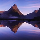 Mitre Peak sunrise - New Zealand by Mark Shean