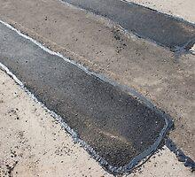 Repair pavement and laying new asphalt by vladromensky