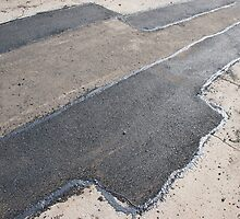 Laying new asphalt patching method by vladromensky