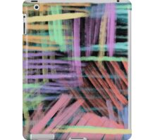 oil pastels pattern iPad Case/Skin