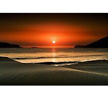 Waves at dawn Photographic Print