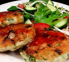 Thai fish Cakes by LifeisDelicious