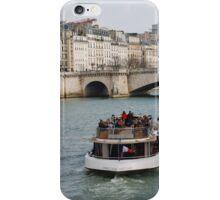 Excursion boat, Paris iPhone Case/Skin