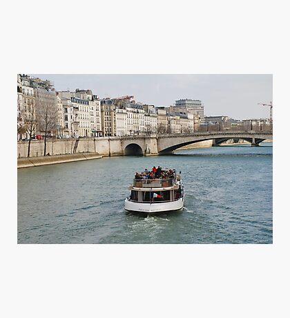 Excursion boat, Paris Photographic Print