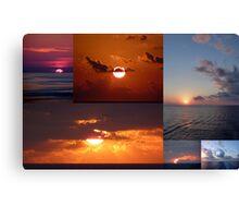 Sunrise, Sunset... Canvas Print