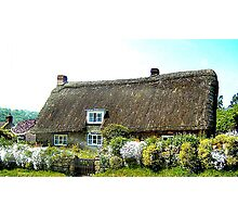 Country Cottage Photographic Print