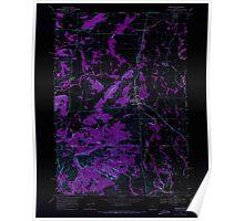 USGS Topo Map Oregon Monroe 280780 1969 24000 Inverted Poster