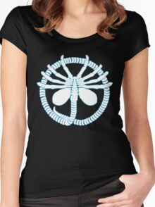Alien Face Hugger Women's Fitted Scoop T-Shirt