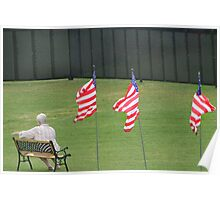 Viet Nam Memorial Traveling Wall  Poster