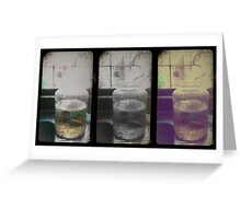 Lost in numbers_Trip-tych Greeting Card