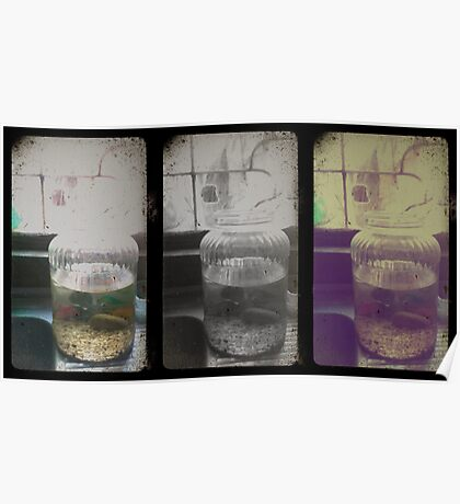 Lost in numbers_Trip-tych Poster