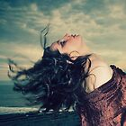 The wind in her hair by AngiNelson
