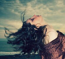 The wind in her hair by Angi Wallace