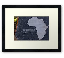Museum of the Cradle of Humankind - Gauteng South Africa Framed Print