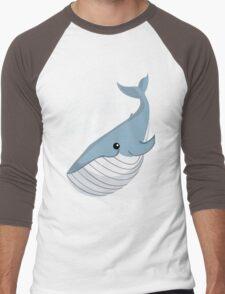 It's a Baby Whale!  Men's Baseball ¾ T-Shirt