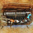 1926 Talbot Grand Prix Engine by Stuart Row