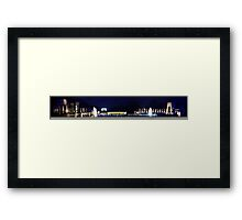 Washington at Night - World War II Memorial Framed Print
