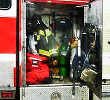 Fire Fighting Gear by Susan Savad