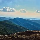 Blue Ridge Mountain - Outlook by glennc70000