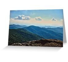 Blue Ridge Mountain - Outlook Greeting Card