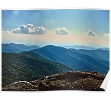Blue Ridge Mountain - Outlook Poster