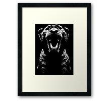 Lion Cub Rawr Framed Print
