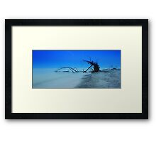 Stump Pass Beach Framed Print