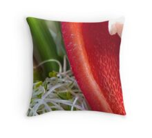 Pepper Abstract 3 Throw Pillow