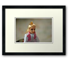 Barbie Framed Print