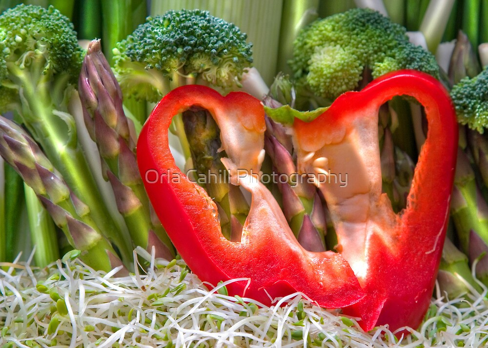 Vegetable Landscape by Orla Cahill Photography