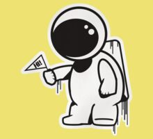 Lonely Astronaut Kids Clothes