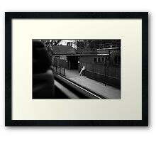 LONDON: VIEWS FROM THE TOP DECK PT 2 'THE STAND UP' Framed Print